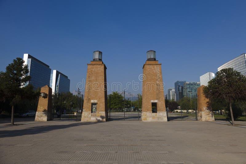 Parque Araucano las Condes, Santiago de Chile stock photography