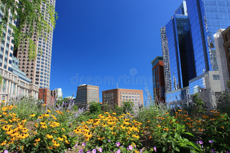 Parque Boston de Kennedy foto de stock