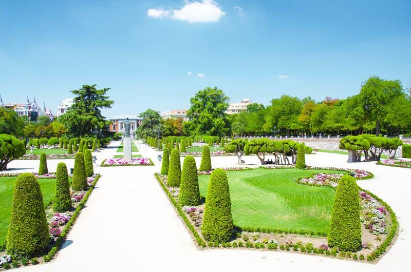 Parque Buen-Retiro, Madrid imagem de stock royalty free