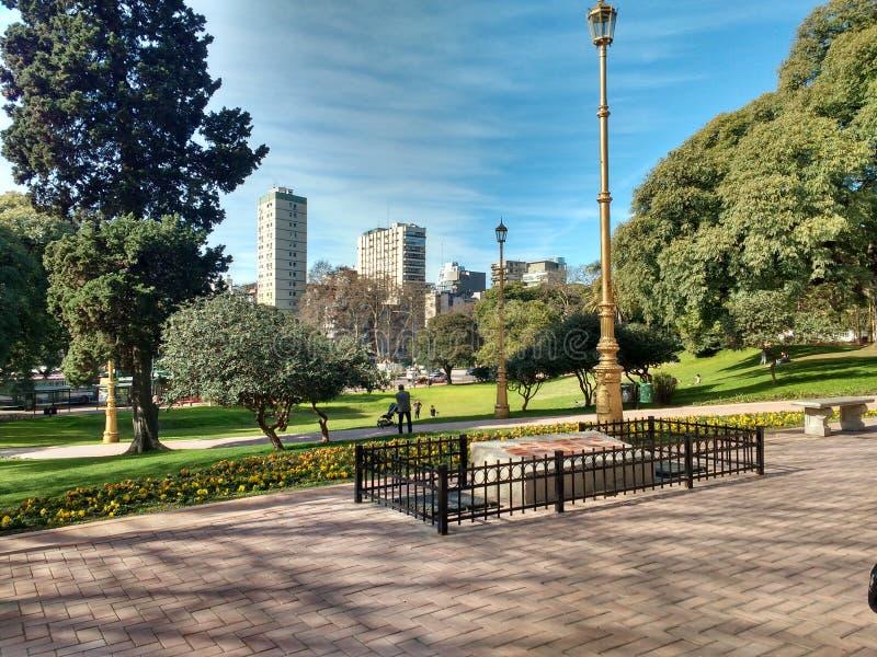 Parque, cidade imagens de stock royalty free