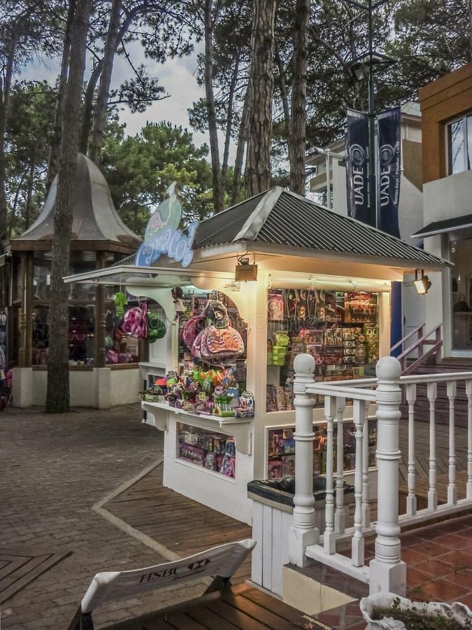 Parque comercial em Carilo Argentina imagem de stock royalty free