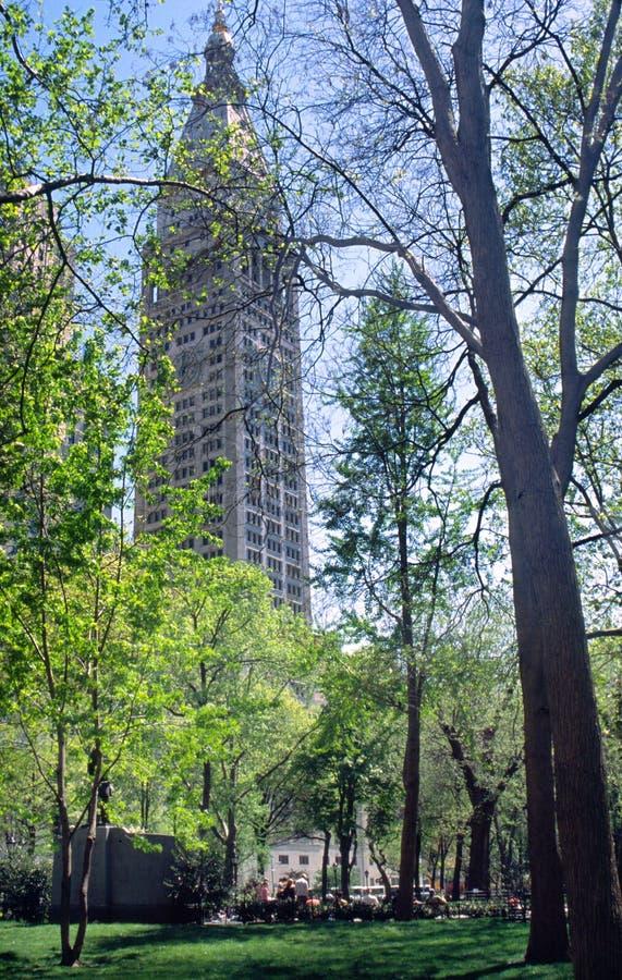 Parque cuadrado de Madison fotografía de archivo