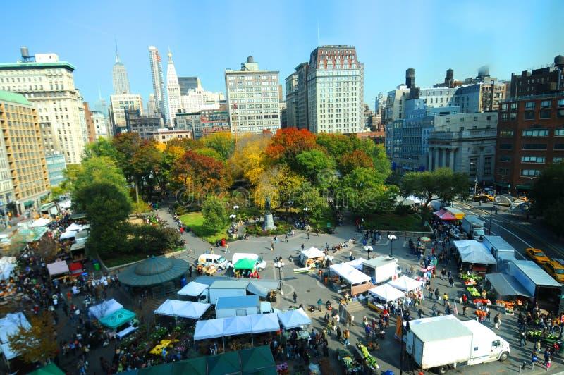 Parque cuadrado Nueva York de la unión fotografía de archivo