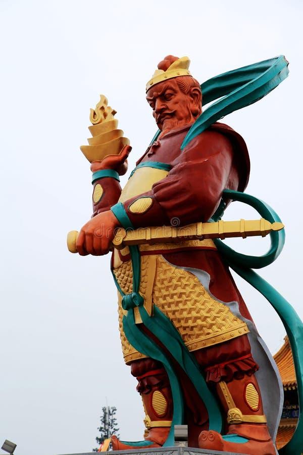 Parque cultural del Taoist de Louguantai en la ciudad de Xian foto de archivo libre de regalías