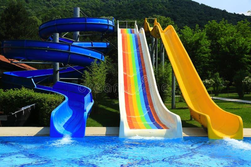Parque da água imagens de stock royalty free