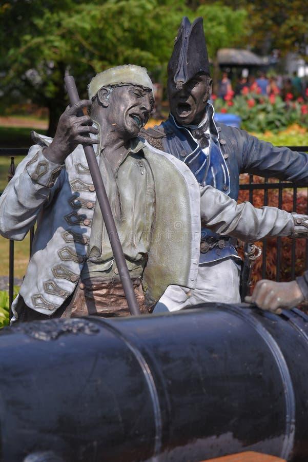 Parque da Arsenal de Marinha dos reis em Amherstburg, Ontário imagem de stock