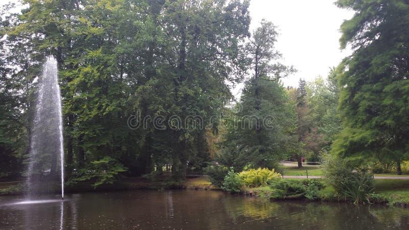 Parque da cidade imagens de stock