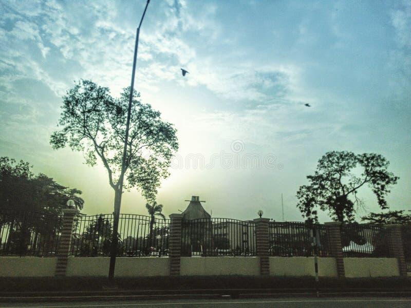 Parque da cidade de Lagos imagens de stock