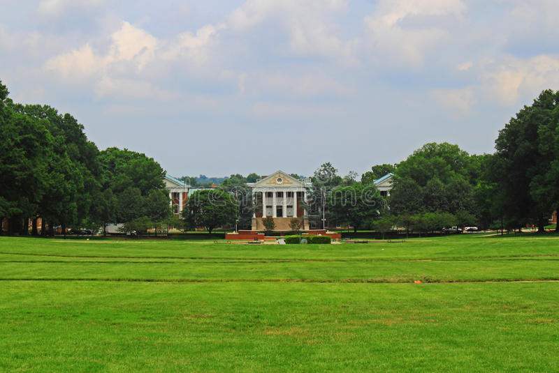 Parque da faculdade de Universidade de Maryland imagem de stock royalty free