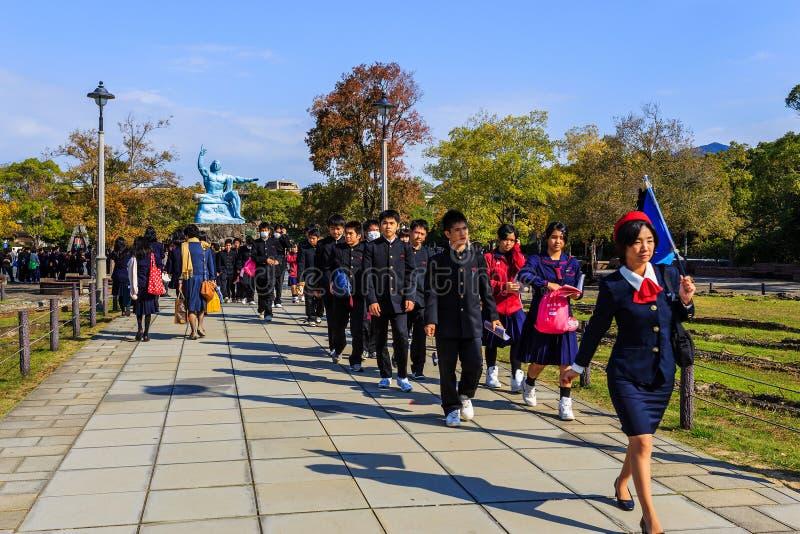 Parque da paz de Nagasaki imagem de stock royalty free