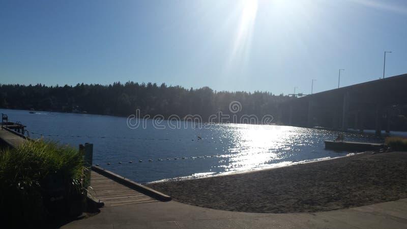 Parque da praia imagens de stock