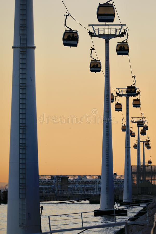 Parque DAS Nações Λισσαβώνα στοκ εικόνα με δικαίωμα ελεύθερης χρήσης