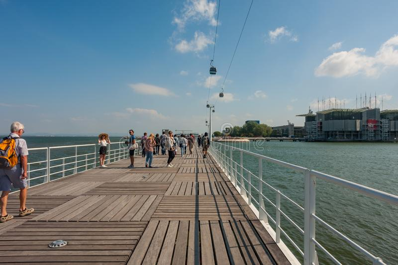 Parque das Nacoes стоковое фото
