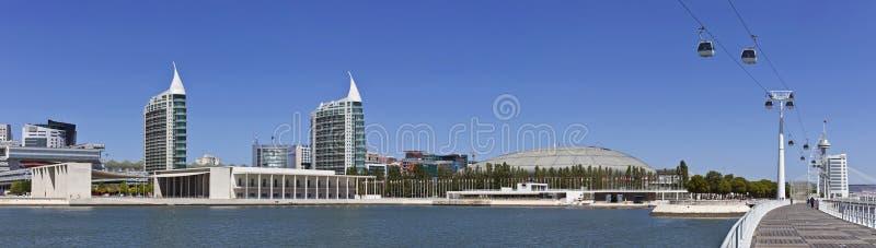 Parque DAS Nacoes/Park von Nationen - Lissabon lizenzfreie stockfotografie