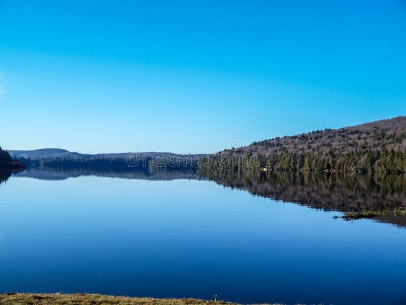 Parque de Algonqn del lago rock fotografía de archivo