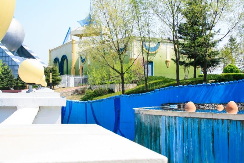 Parque de atracciones de la película de Changchun imagen de archivo