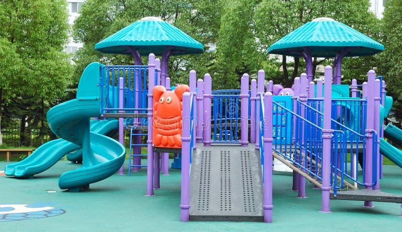 Parque de atracciones de los niños imagenes de archivo