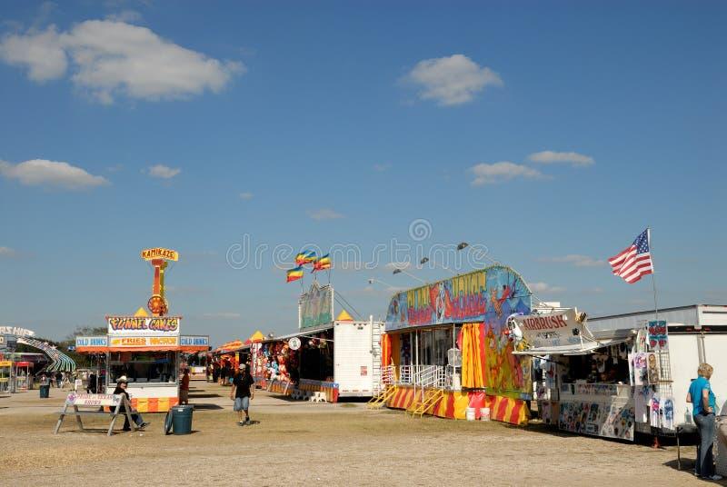 Parque de atracciones en Tejas imagen de archivo