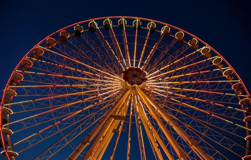 Parque de atracciones Prater en Viena foto de archivo libre de regalías