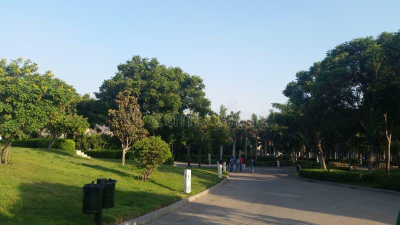 Parque de Azhar foto de archivo libre de regalías