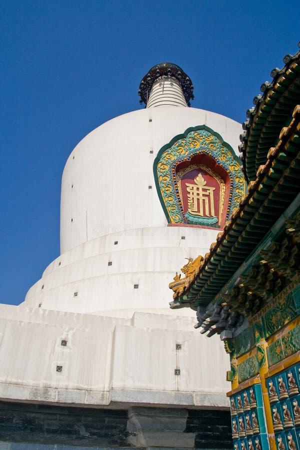Parque de Beihai em Beijing foto de stock royalty free