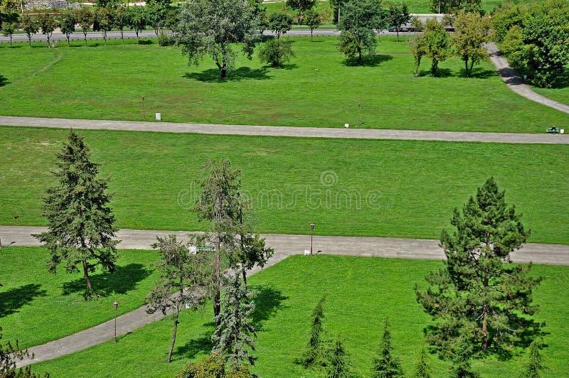 Parque de Belgrado foto de archivo libre de regalías