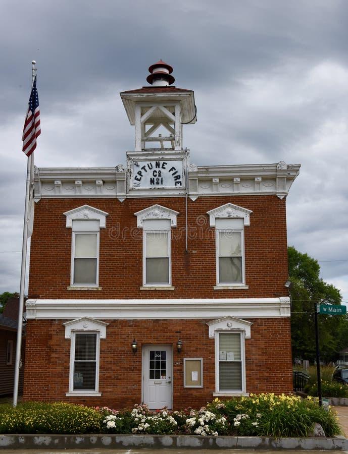 Parque de bomberos histórico fotografía de archivo libre de regalías