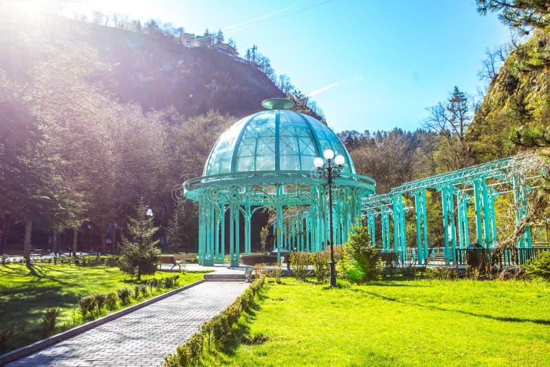 Parque de Borjomi fotos de archivo