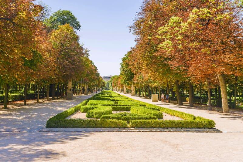 Parque de Buen Retiro Madrid Retiro del parque, España imágenes de archivo libres de regalías