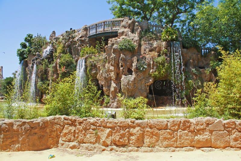 Parque de Cádiz fotos de archivo libres de regalías