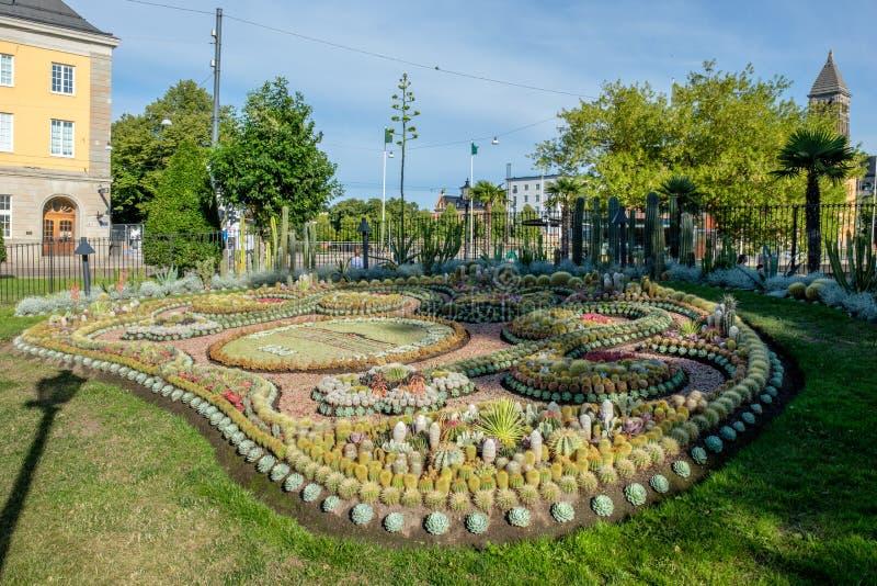 Parque de Carl Johans en Norrkoipng, Suecia fotografía de archivo libre de regalías