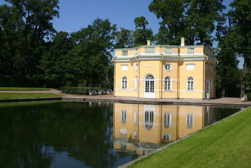 Parque de Catherine en el SE de Tsarskoye foto de archivo