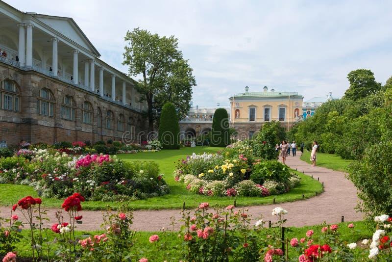 Parque de Catherine en Tsarskoye Selo fotografía de archivo libre de regalías