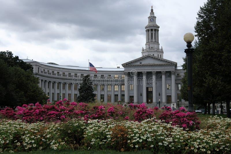 Parque de centro de Denver imagen de archivo