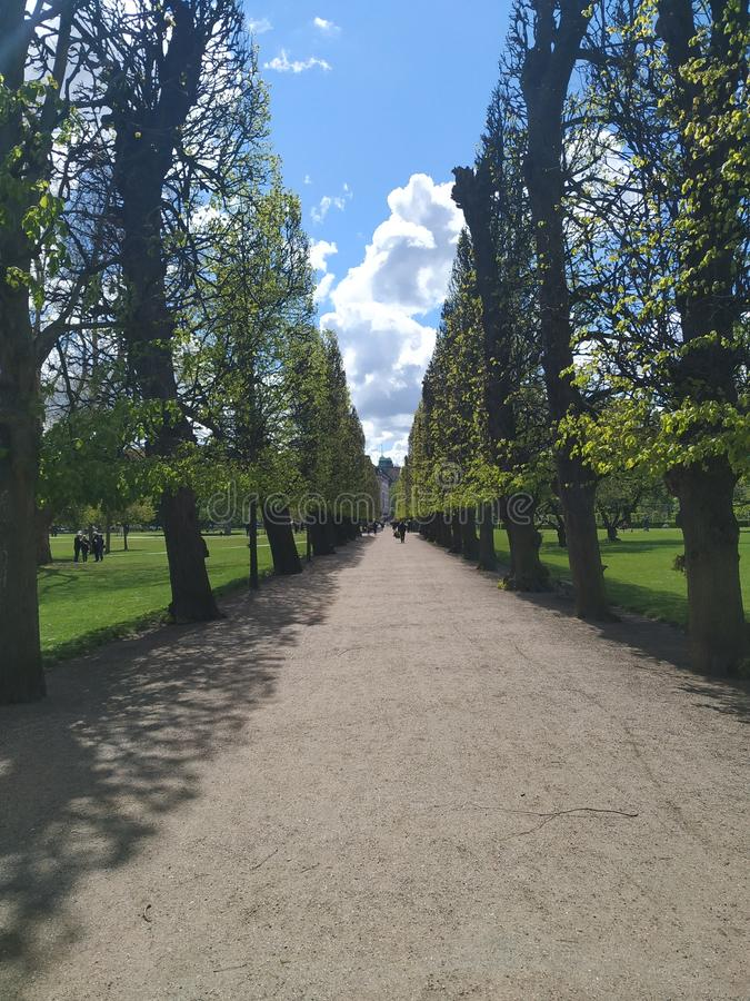 Parque de Copenhague fotos de archivo libres de regalías