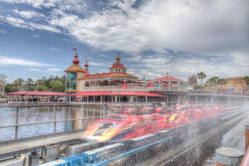 Parque 2018 de Disneyland California imagen de archivo
