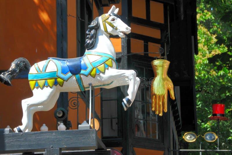 Parque de diversões de Tivoli imagens de stock