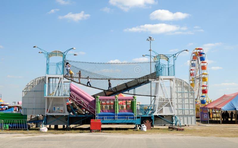 Parque de diversões em Texas imagens de stock