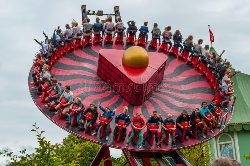 Parque de diversões de Liseberg na Suécia imagem de stock royalty free