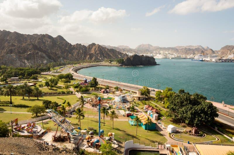 Parque de diversões litoral imagens de stock royalty free