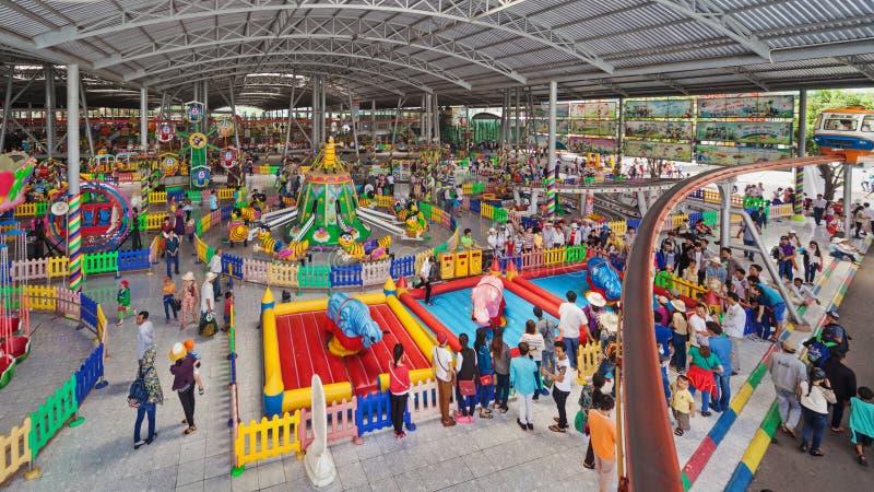 Parque de diversões Suoi Tien da cidade de Ho Chi Minh (Saigon) fotografia de stock royalty free