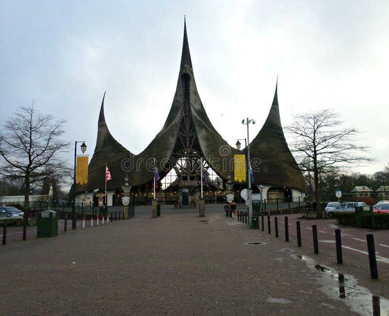 Parque de Efteling en Holanda fotos de archivo