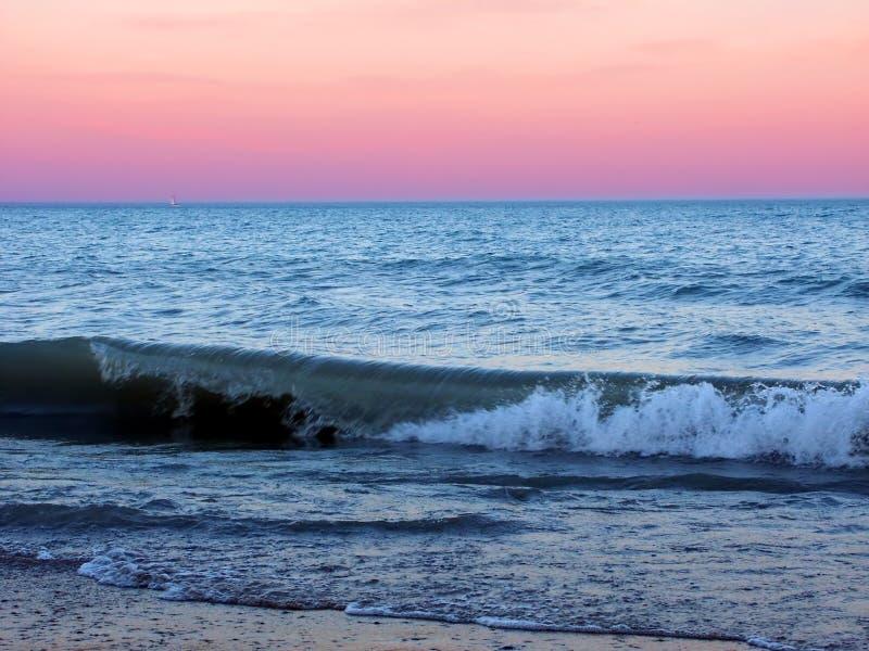 Parque De Estado De La Playa De Illinois Imágenes de archivo libres de regalías