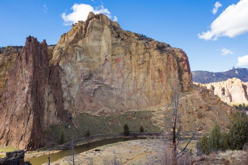 Parque de estado de la roca de Smith en Oregon fotografía de archivo