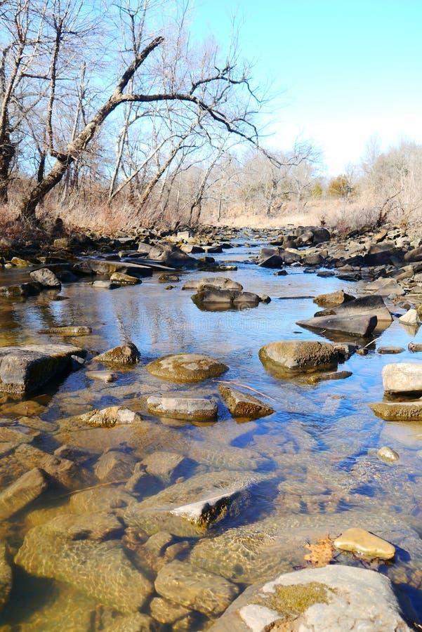 Parque de estado de las colinas de Osage foto de archivo