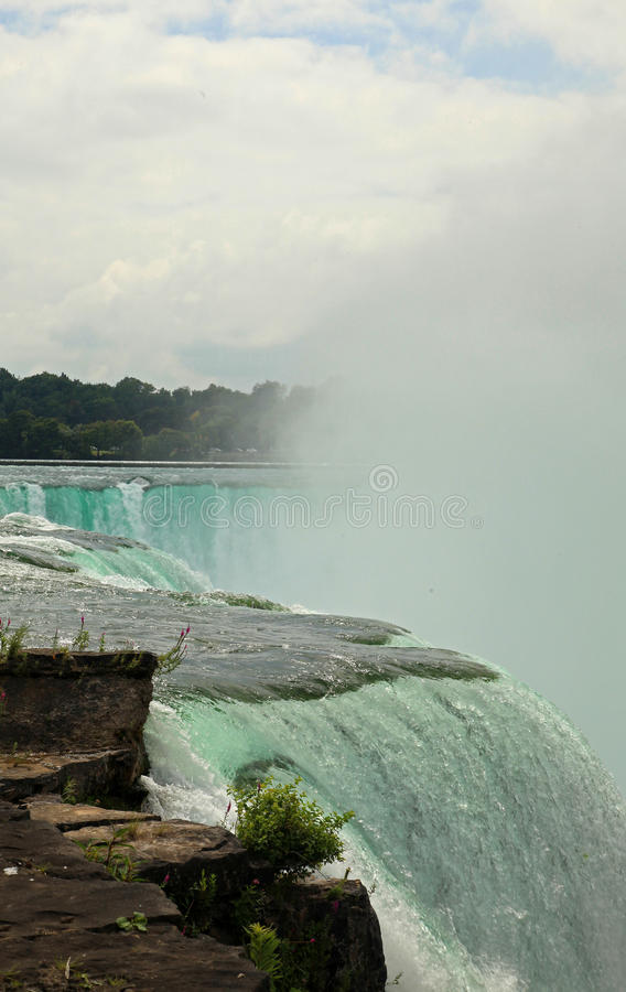 Parque de estado de Niagara Falls foto de stock