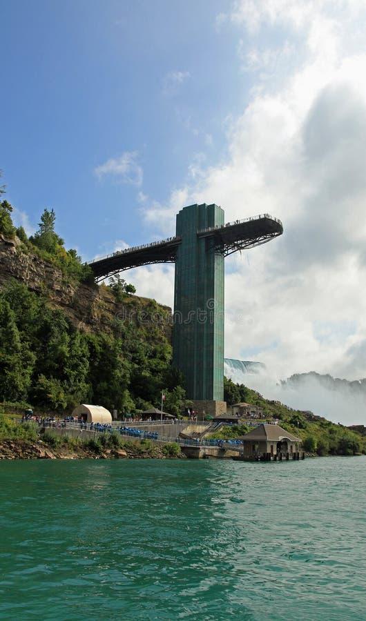 Parque de estado de Niagara Falls fotografia de stock