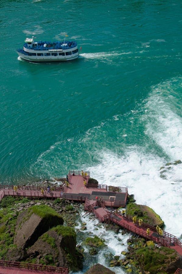 Parque de estado de Niagara Falls, EUA fotos de stock