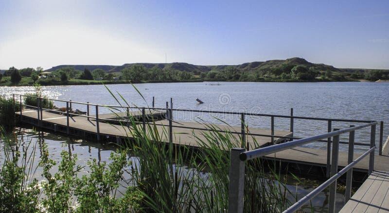 Parque de estado del lago Meade, Kansas fotos de archivo