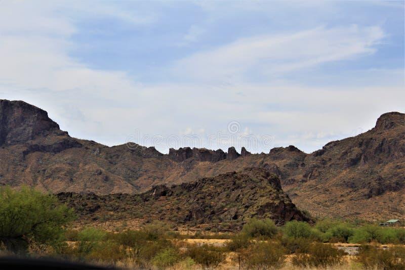 Parque de estado del pico de Picacho, parque de estado en el condado de Pinal, Arizona, estado unido imagen de archivo